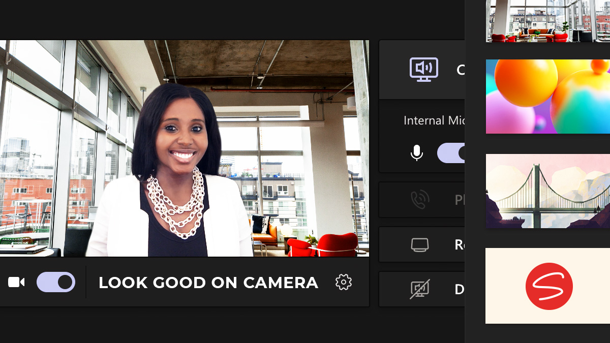Tips to look great in a video meeting